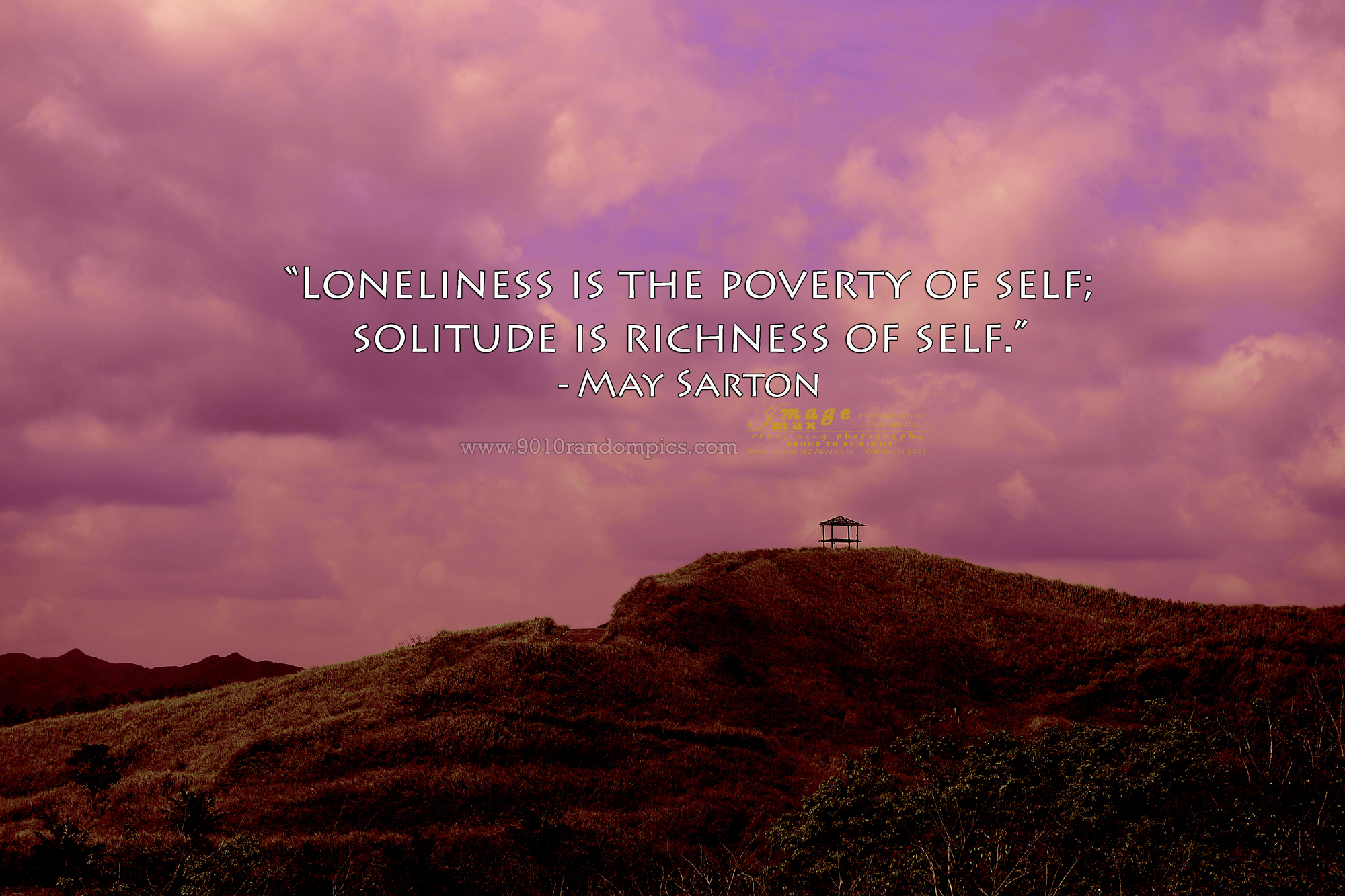 Quotes On Solitude Loneliness Vs Solitude  9010Randompics
